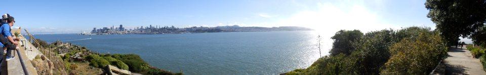 Alcatraz Panorama