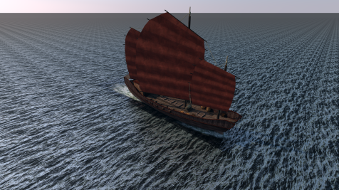 C4D Chinese Pirate Junk0325